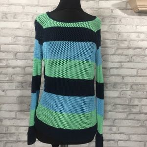 Knitted striped 525 America Sweater